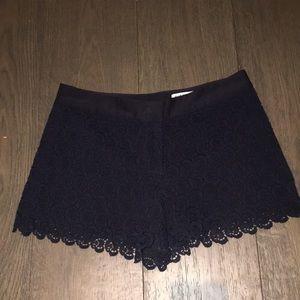 Club Monaco Lace Shorts